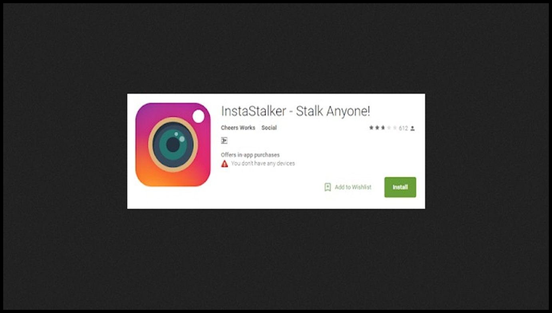 Instagram Check Stalkers website
