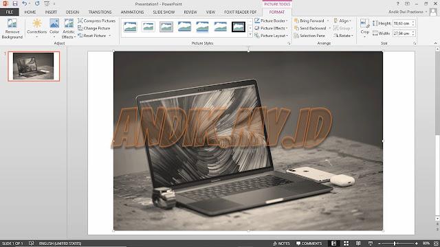 tutorial, tutorial powerpoint, microsoft office, microsoft powerpoint, mengubah warna gambar,