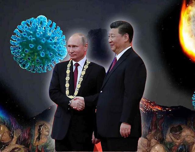 """O mal que tem suas raízes na Rússia, dirige de maneira radical o governo da China"""""""