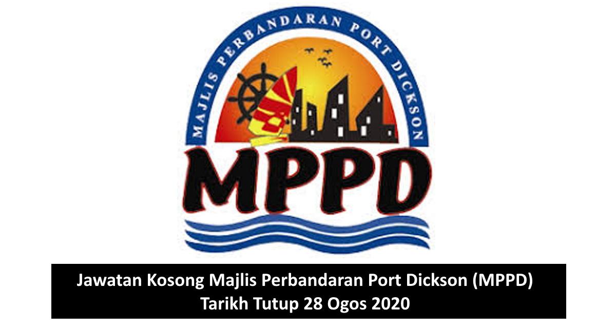 Jawatan Kosong Majlis Perbandaran Port Dickson Mppd Tarikh Tutup 28 Ogos 2020