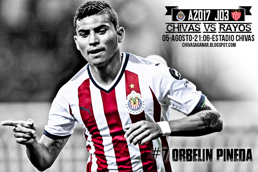 Liga MX : CD Guadalajara vs Deportivo Necaxa - Apertura 2017 - Jornada 3.