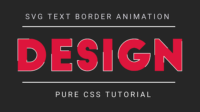 How to create SVG Text Stoke Animation | Beginner's  Tutorial