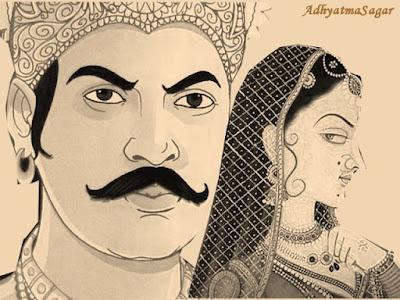 raja ashok or tishyarkashita ki kahani