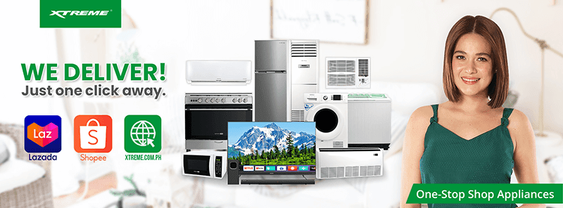XTREME Appliances launches its own online store along with Shopee and Lazada pages