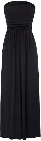Good Quality Plus Size Strapless Maxi Dresses