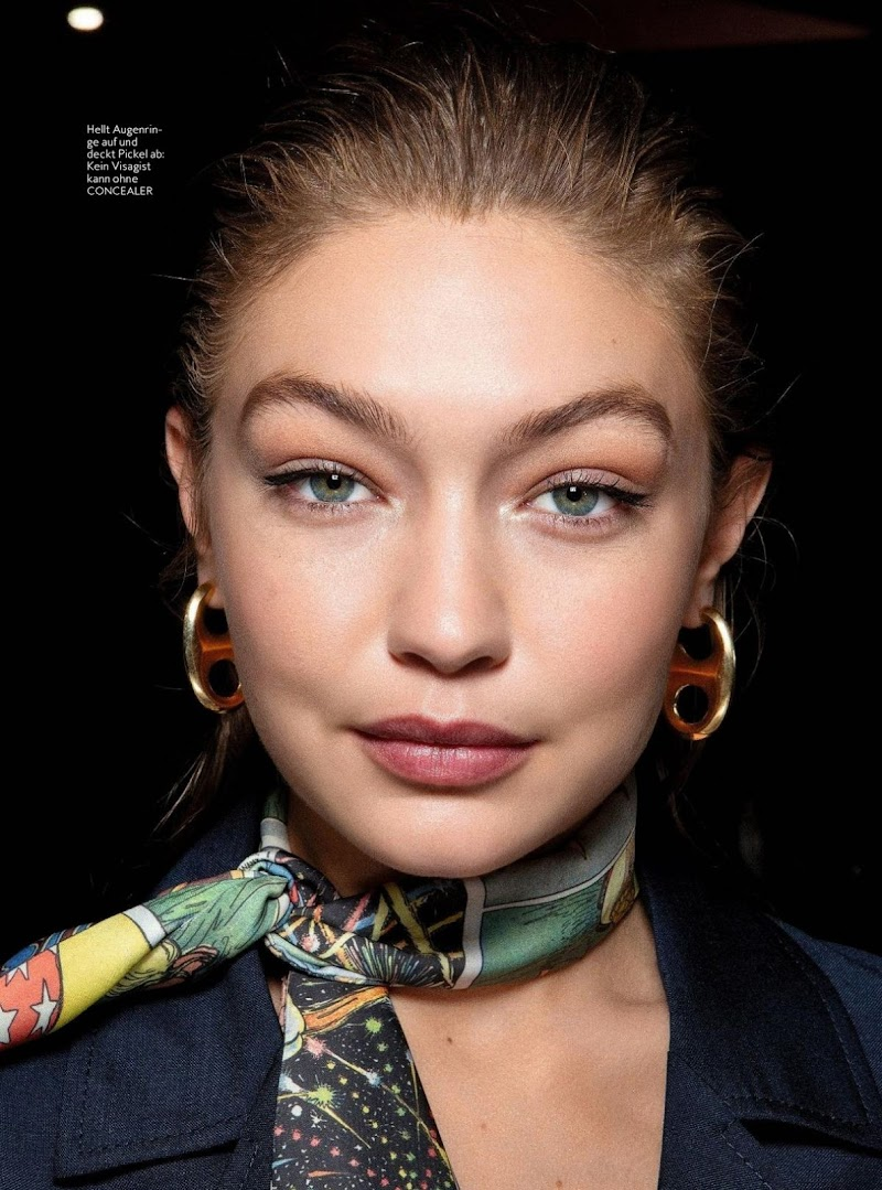 Gigi Hadid Featured in Instyle Magazine, Germany March 2020