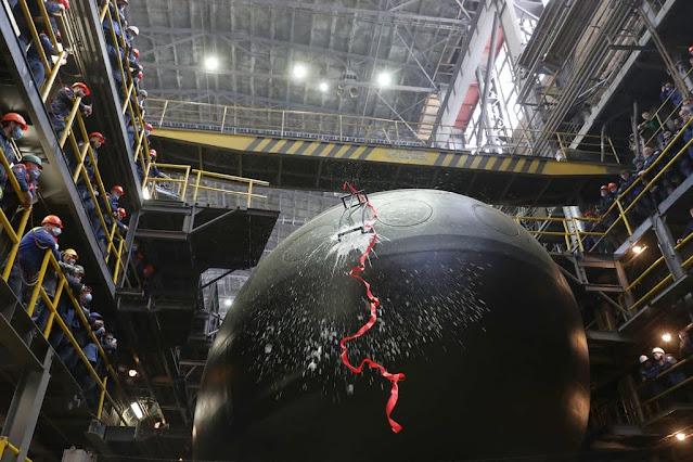 Botan nuevo Submarino Proyecto 636.3 para la Armada Rusa: El Magadan