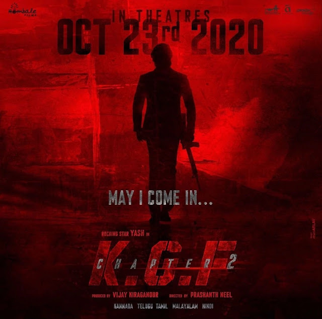 KGF Chapter 2 Release Date, 2020 Yash KGF 2 Updates