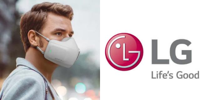 Korean Tech Giant LG Creates Battery-Powered Face Mask