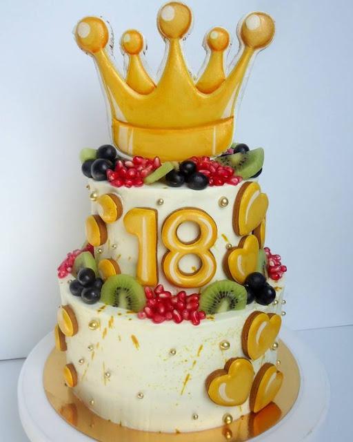 torty na 18 urodziny