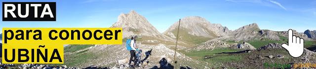 Ruta de montaña pasando por Ubiña la grande y la pequeña y Peña Cerreos.