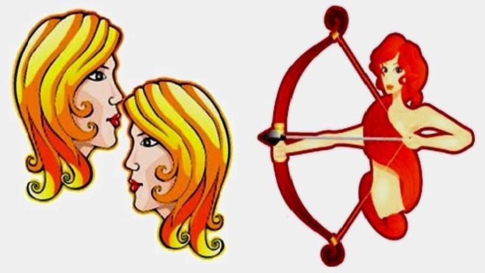 Compatibilità tra Gemelli e Sagittario in amore
