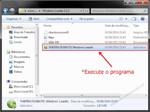 LOADER WINDOWS 7 ATIVADOR BAIXAR DO