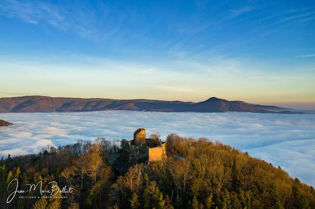 Château du Frankenbourg (12e-16e s.) à l'aube [2019]