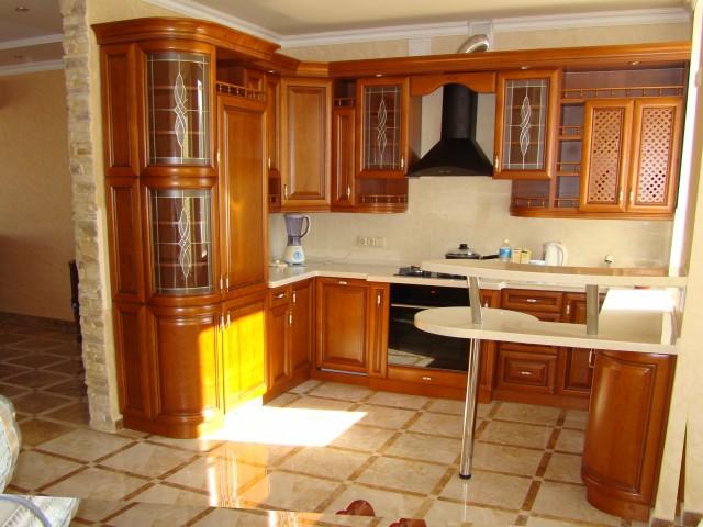 Кухня из дерева фото дизайн