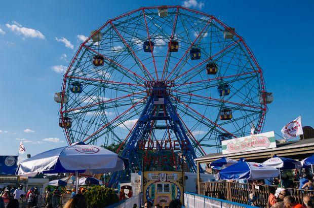The Wonder Wheel, Coney island, New York City