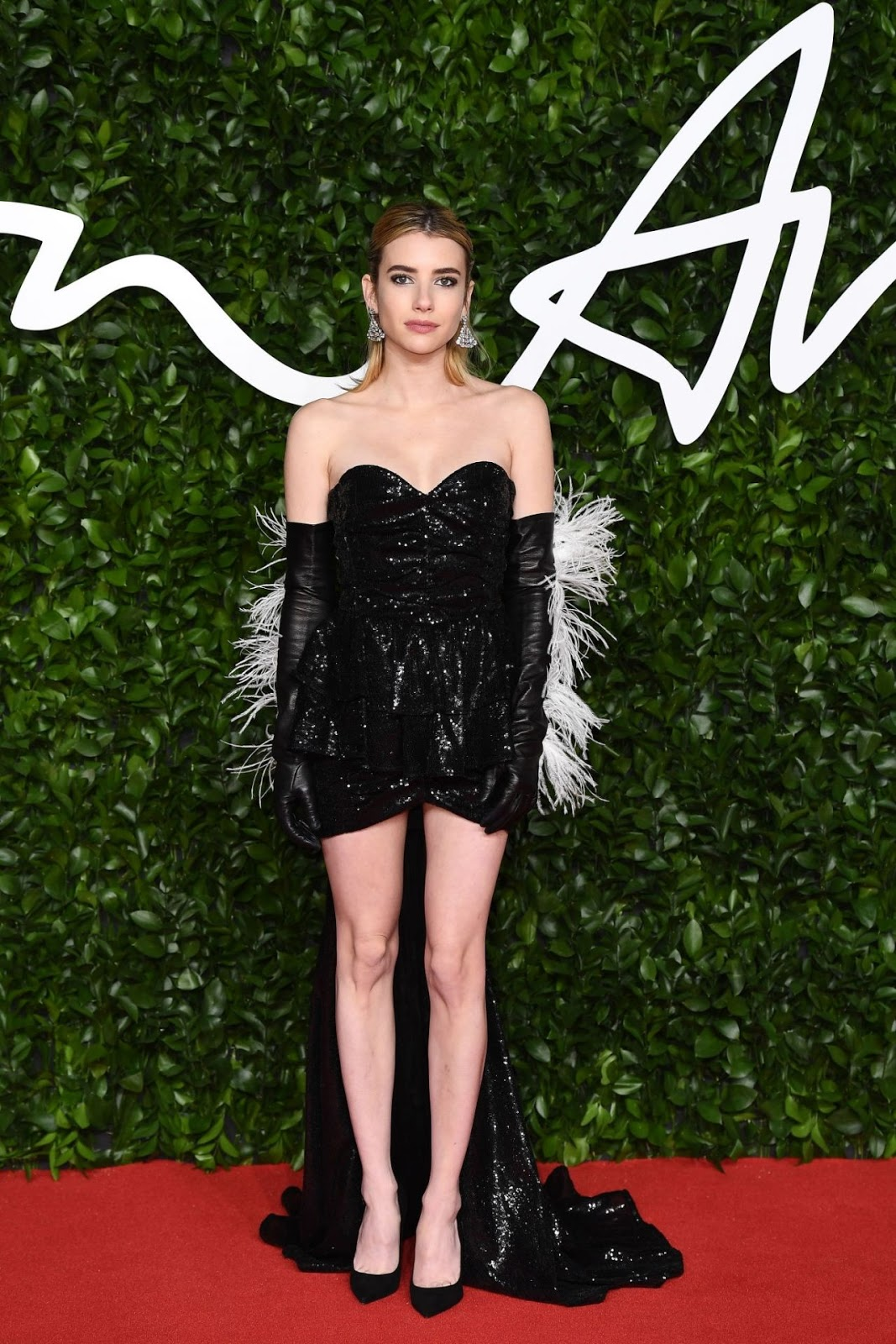 Emma Roberts – Fashion Awards 2019 Red Carpet in London