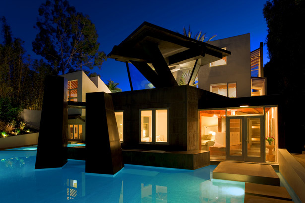 Frank Gehry S Beautiful Architecture Schnabel House