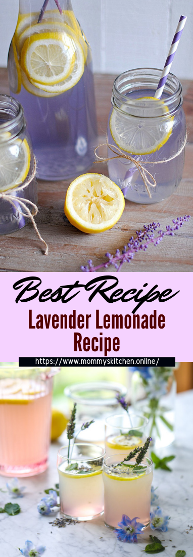 Lavender Lemonade Recipe #healthydrink #easyrecipe #cocktail #smoothie