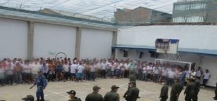 Hacinamiento en establecimientos penitenciarios de Cundinamarca.