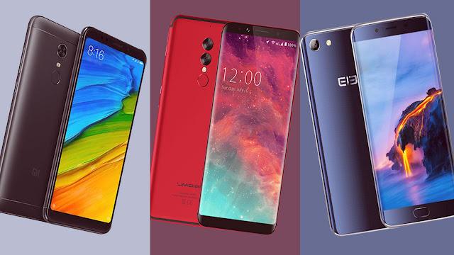 افضل 3 هواتف ذكية بمواصفـات عالية جدا و بسعر رخيص لسنة 2018