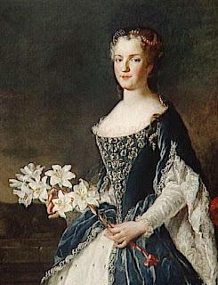 Marie Leszczyńska by Alexis Simon Belle, 1730