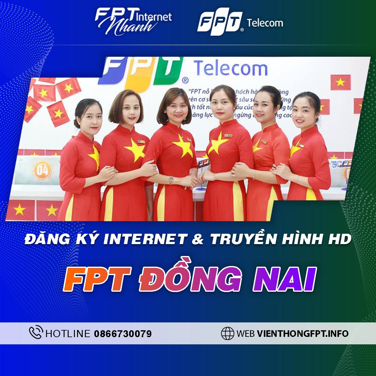 Chi nhánh FPT Đồng Nai - Tổng đài lắp Internet và Truyền hình FPT