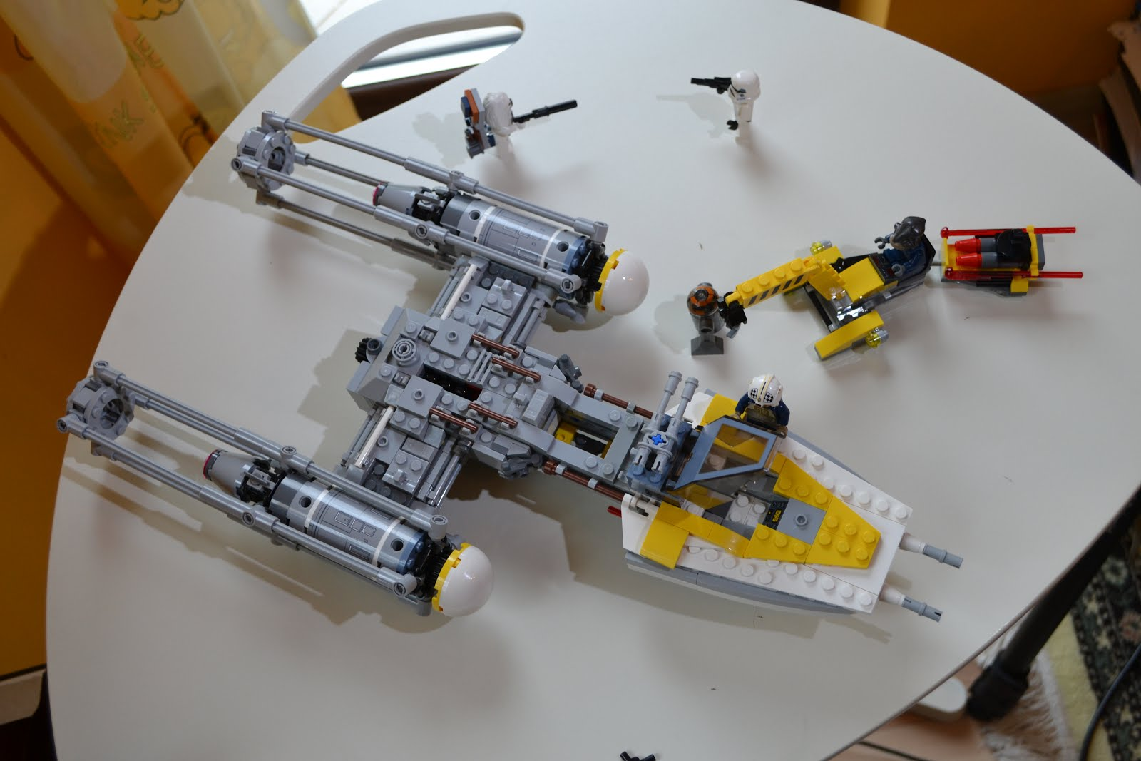 Lego Star Wars Set 75172 Y Wing Starfighter Review
