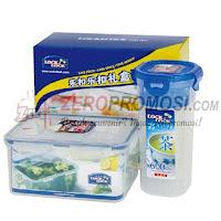 Lock & Lock HPL938S905 Plastic Container 2P Set