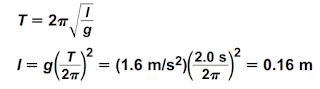 حل المسائل التدريبية لدرس الحركة الدورية > الجزء الثاني< - الاهتزازات والموجات