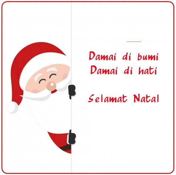 Ucapan selamat hari Raya Natal