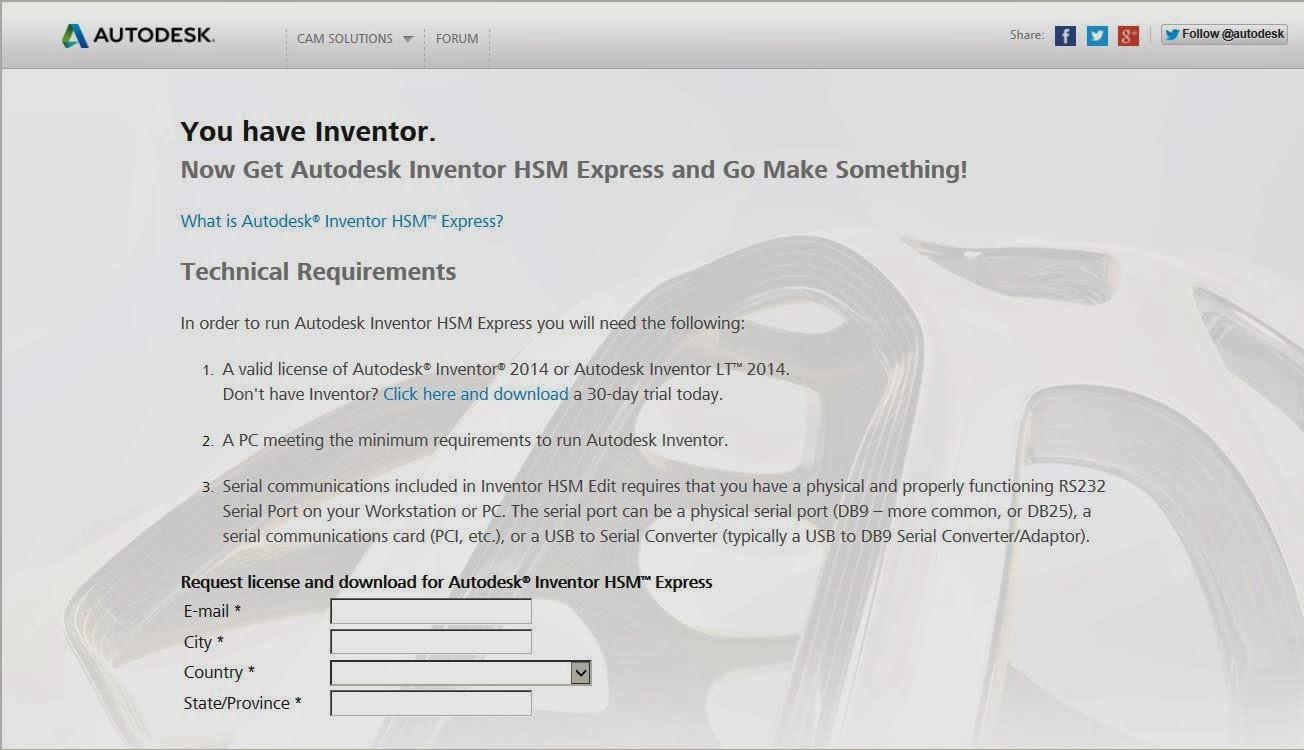 Autodesk hsm express