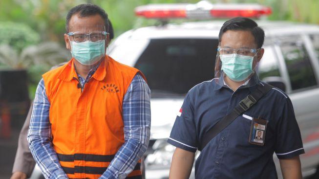 Mantan Menteri KKP Edhy Prabowo Pakai Uang Suap Lobster untuk Beli Wine