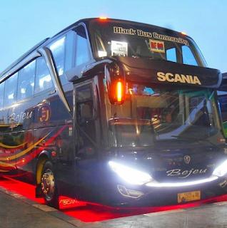Bus Bejeu Scania
