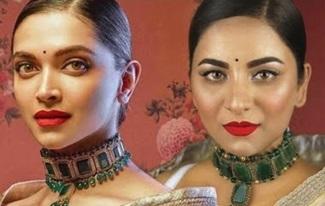 Deepika Padukone Makeup Tutorial | Sabyasachi for Nilaya + Giveaway