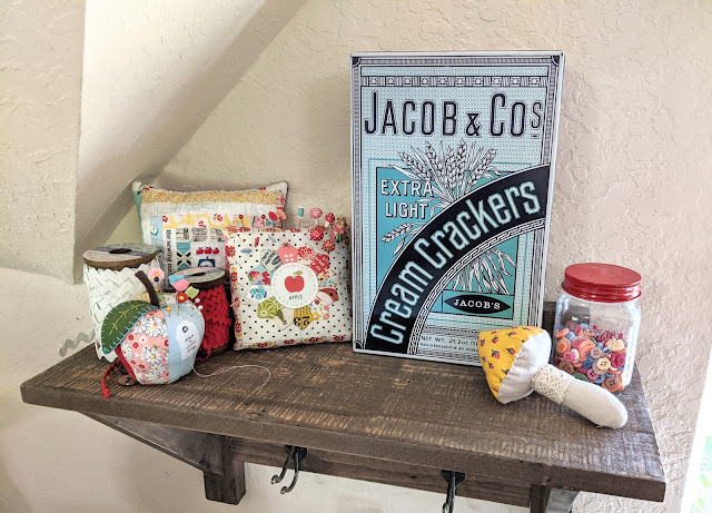 Over 20 Fun Ideas for Organizing Your Sewing Space by Heidi Staples of Fabric Mutt