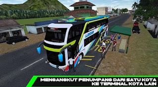 Aplikasi game Mobile Bus Simulator