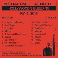hollywood's bleeding copertina nuovo album di post malone