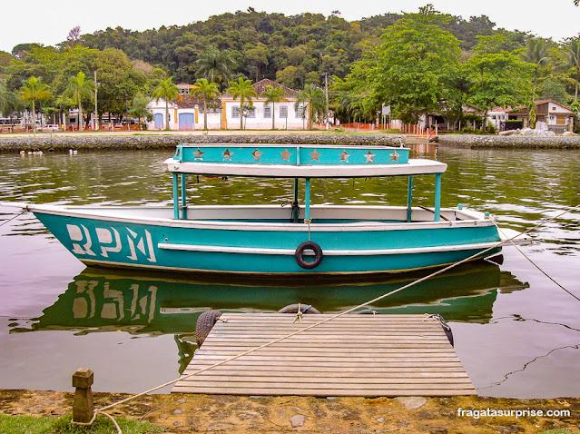 Aluguel de barcos em Paraty