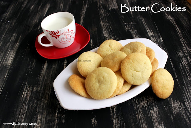 Eggless Butter Biscuit