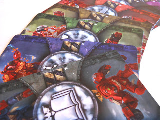 Space Marine Pack 1 randomisation cards