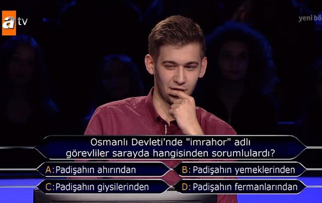 İmrahor isimli görevliler Osmanlıda hangi işi Yapardı