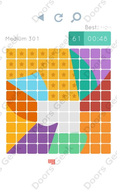 Cheats, Walkthrough for Blocks and Shapes Medium Level 301