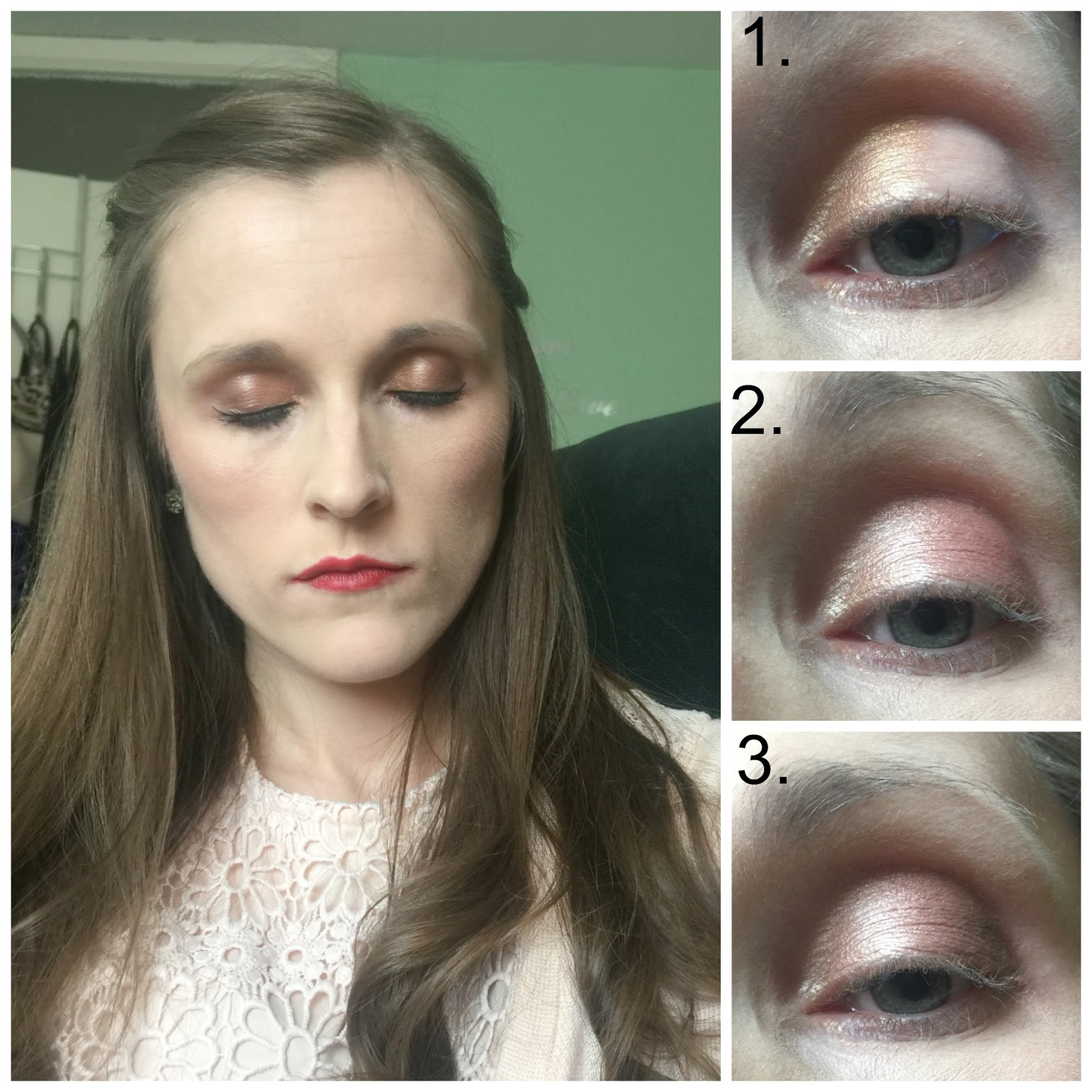 mua burning embers palette gold splendour look