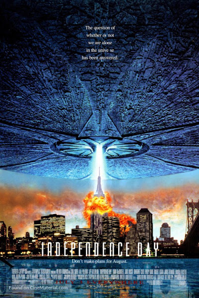 Poster of Independence Day 1996 EXTENDED 720p Hindi BRRip Dual Audio Download