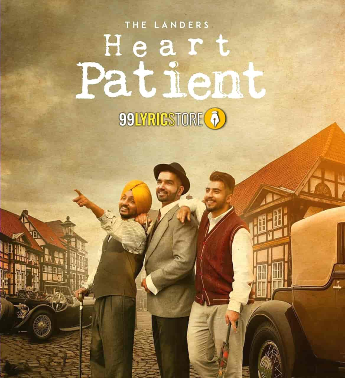 Heart Patient punjabi song sung by The Landers