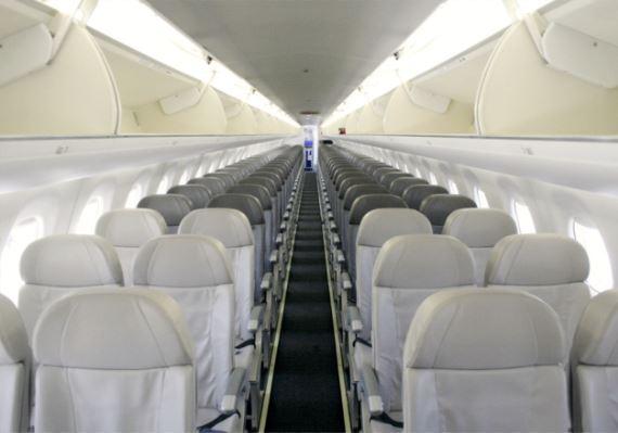 Embraer E195 Interior
