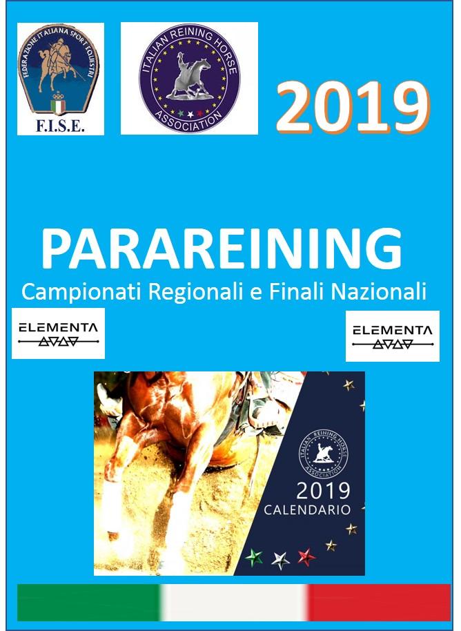 Fise Calendario Regionale.Mauro Penza Reining News Parareining 2019 Al Via I