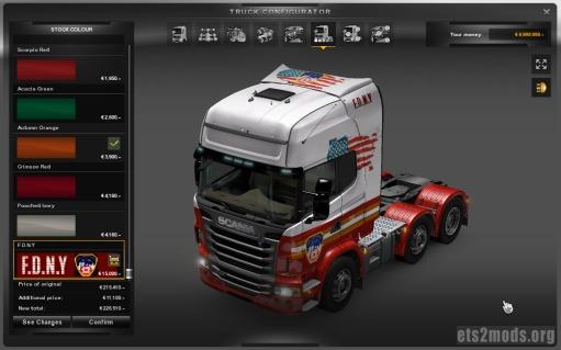 Scania FDNY Skin