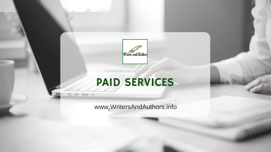 Paid Services at Writers and Authors. Promote your books with us #BookShowcase #Excerpt #Giveaway #AuthorInterview #NetGalleyAlert